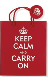Keep Calm & Carry On Gift Bag