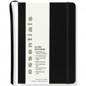Essentials Blank Notebook, Small, A6 Size
