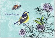 Summer Songbirds Thank You Notes