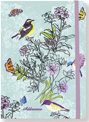 Summer Songbirds Address Book