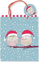 Whistling Owls Holiday Gift Bag