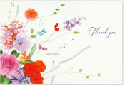 Corner Garden Thank You Notes