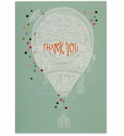 Up, Up, and Away Thank You Notes