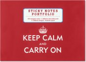 Keep Calm & Carry On Sticky Notes