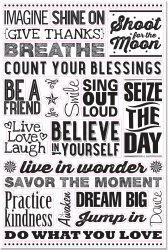 Believe In Yourself Peel & Stick Wall Decal Set