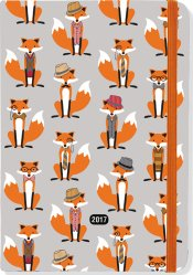 2017 Dapper Foxes Weekly Planner