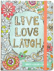 Live Love Laugh Coloring Journal