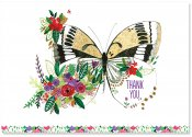 Butterfly Meadow Thank You Note Cards