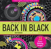 Back in Black Reverse Artist's Coloring Book