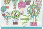 Balloons Note Cards