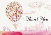 Lighter Than Air Thank You Notes