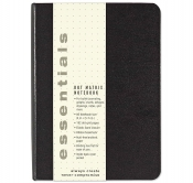 Essentials Dot Matrix Notebook, Small, A6 Size
