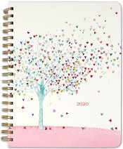 2020 Tree of Hearts Desk Calendar