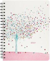 2021 Tree of Hearts Desk Calendar