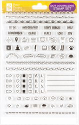 Dot Journaling Clear Stamp Set