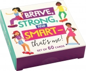 Brave, Strong, and Smart That's Me! Inspirational card deck