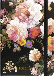 2022 Midnight Floral Weekly Planner